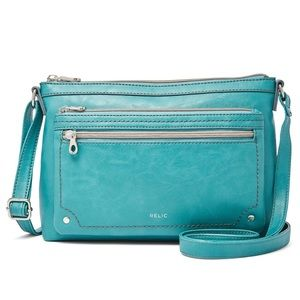 Relic by Fossil Evie | Blue Crossbody Bag | NWOT
